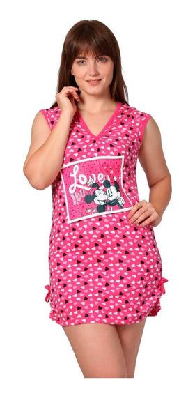Pijama Para Mujer Disney Camison Minnie Mickey Mouse 7117