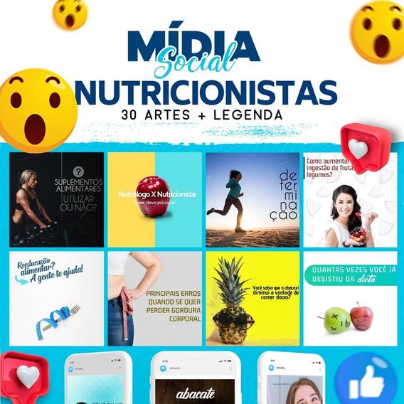 50 Posts Para Nutricionistas - Facebook E Instagram