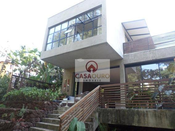 Casa Residencial À Venda, Vale Do Sereno, Nova Lima. - Ca0055
