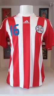 Camisa Futebol adidas Paraguai Preparada Jogo