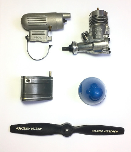 Imagen 1 de 8 de Kit Motor Os Max 15 | Aeromodelismo