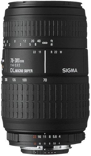 Lente Objetiva Sigma 70-300mm F/4.0-5.6 Dg P/ Nikon