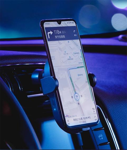 Carregador Automático Sem Fio Veicular Xiaomi