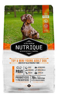 Nutrique Toy & Mini Young Adult X 7.5 Kg