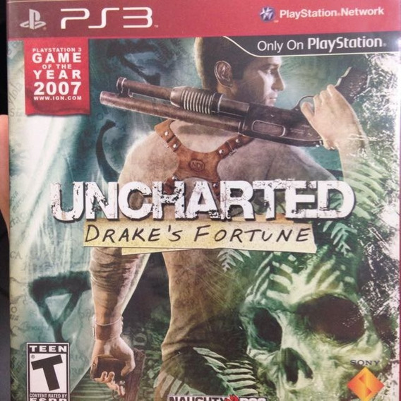 Jogo Para Playstation 3 Uncharted 3 Drake´s Fortune