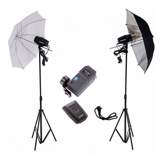 Kit Estúdio Fotográfico Argos Flash 300w K150 Greika 110v