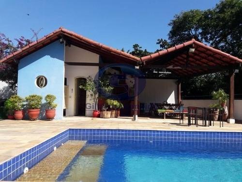 Imagem 1 de 20 de Casa A Venda Em Condomínio Na Freguesia Com 4 Quartos (bosque Do Sabiá) - J-61127 - 68076683