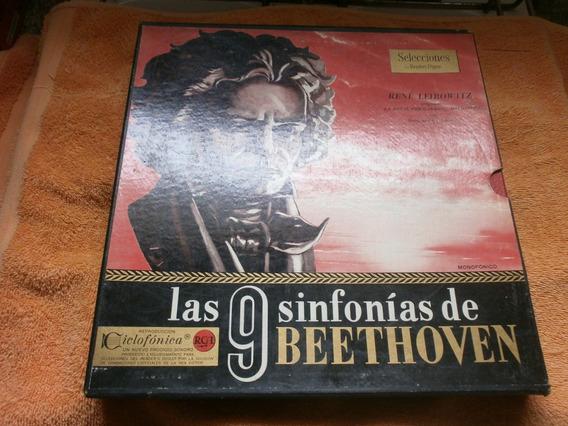Colección Vinilos Las 9 Sinfonías De Beethoven