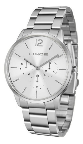 Relógio Lince Feminino Multifunção Lmmj087l S2sx Prata