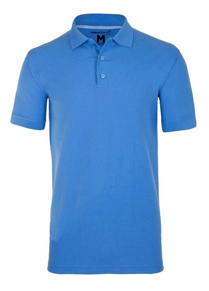 Playera Polo Premium Caballero National Style