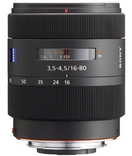 Lente Sony Dt 16-80mm F/3.5-4.5 Za Vario-sonnar T* A-mount (sal1680z) Sony