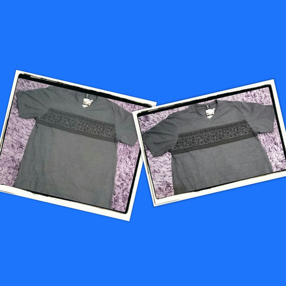 Camiseta Masculina G2 Tamanho Grande Plus Size