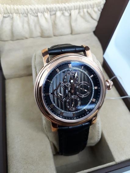 Lucien Piccard Valarta Retrograde Reloj Para Caballero