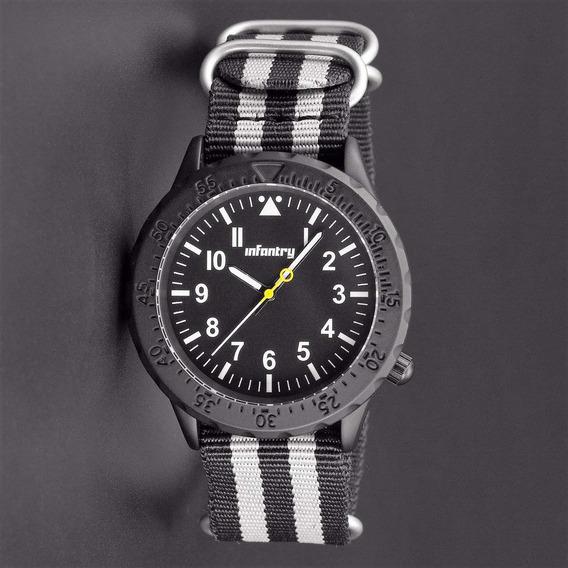 Relógio De Pulso Infantry Masculino Quartz - Analógico Novo