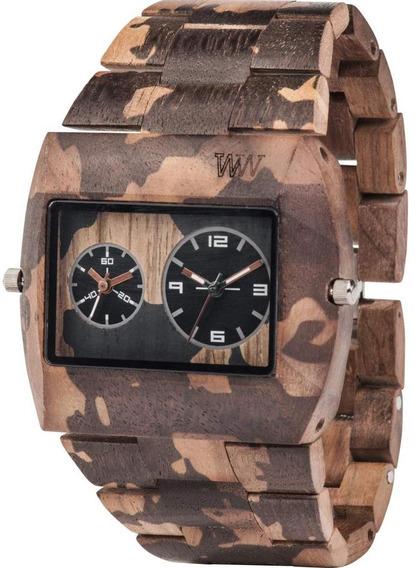Relógio Wewood Jupiter Nature Camo Nut + Sedex Grátis