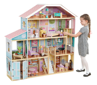 Kidkraft Grand View Mansion Dollhouse Con