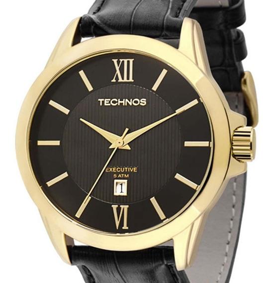 Relógio Technos Masculino Classic Executive 2115knh/0p C/nfe