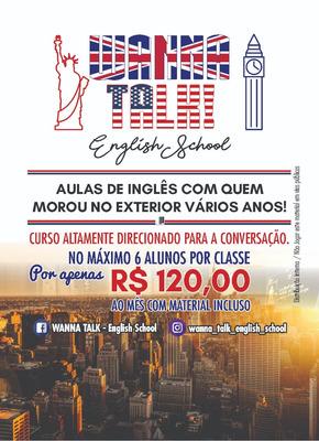 Curso De Inglês Itaquera E São Miguel Paulista Wanna Talk!