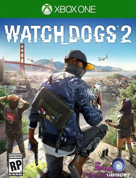 Watch Dogs 2 Xbox One - 25 Dígitos (envio Rápido)