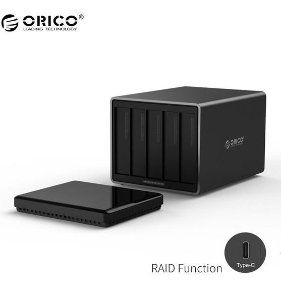 Hd Storage Orico Raid Usb 3.1 Com 5 Baias Até 50tb