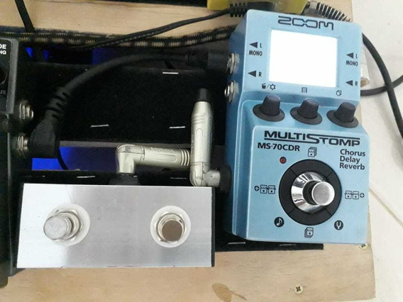 Ms-70cdr Zoom + Footswitch Multiefeitos Chorus/delay/reverb
