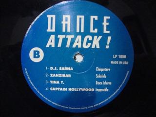 Vinilo Dance Attack Dj Sarna Zanzibar Tina U 96 Bad Vice E1