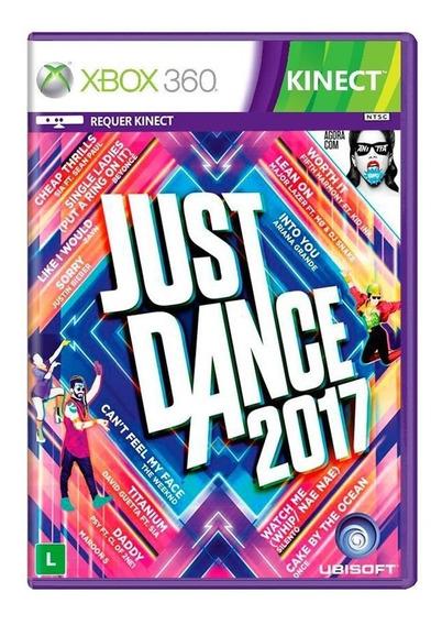 Jogo Just Dance 2017 Para Xbox 360 Ubisoft Kinect