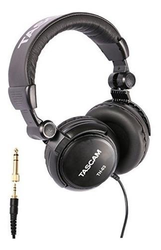 Tascam Th-03 Audifonos De Estudio