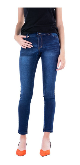 Jean Chupin Mujer Elastizado / Tiro Medio - Blue Air Jeans