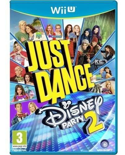 Just Dance Disney Party 2 - Nintendo Wii U Mídia Física