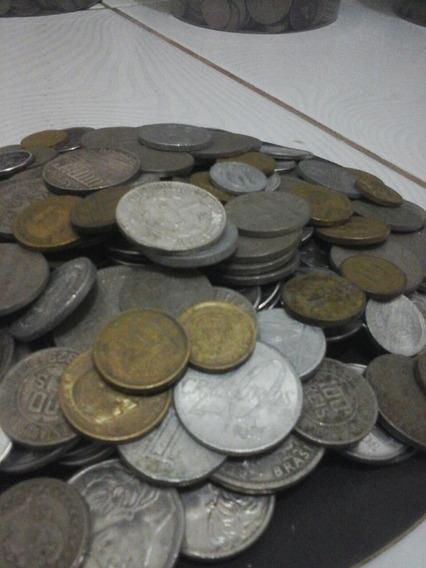 240 Moedas Nacionais( Prata,bronze,níquel)-frete Grátis