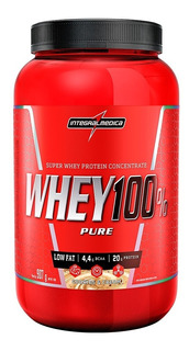 Whey Protein 100% Pure 907gr - Integral Médica