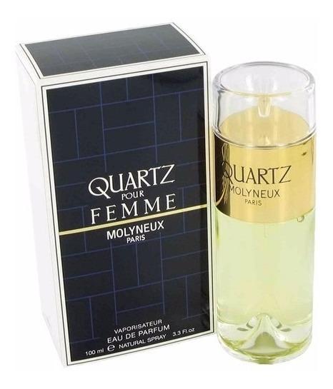 Perfume Quartz Pour Femme 100 Ml - Molyneux - Selo Adipec