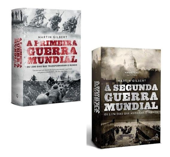 Livros Primeira Guerra Mundial + Segunda Guerra Mundial #