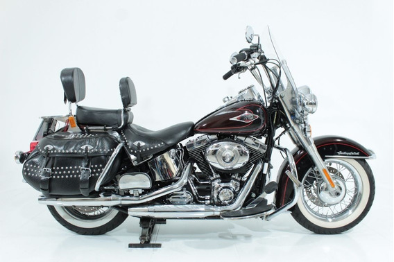 Harley Davidson Softail Heritage Classic 2011 Vermelha