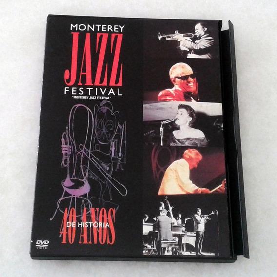Dvd - Monterey Jazz Festival/40 Anos De História - Raríssimo