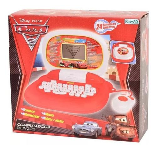 Computadora Bilingüe De Cars Disney Pixar