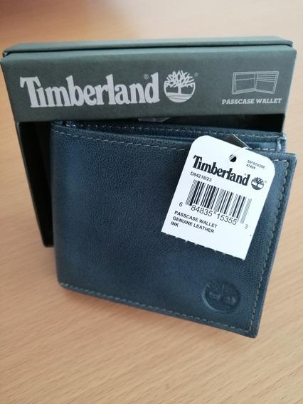 Cartera Timberland De Cuero 100% Original Con Passcase