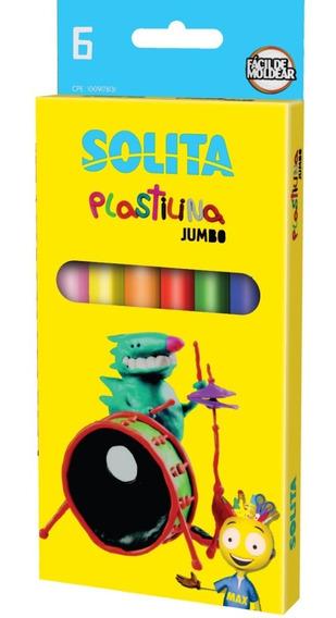 Plastilina Gigante Solita 6 Colores Spt004