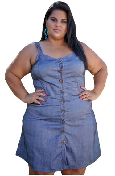 Vestido Plus Size G1 G2 G3 C/ Lycra Roupas Feminina