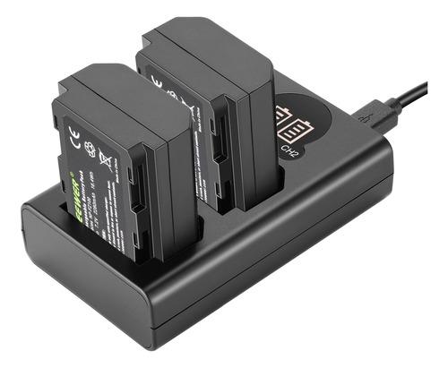 Neewer Np-fz100 2pcs Batería Y Cargador Para Sony A9 A7iii