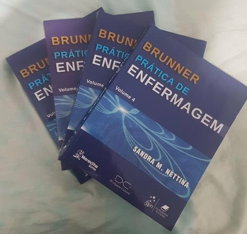 Brunner Prática De Enfermagem - Coleção 4 Livros