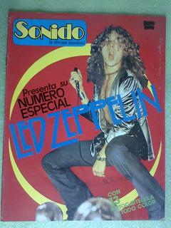 Revista Sonido Led Zeppelin 13 Pósters México