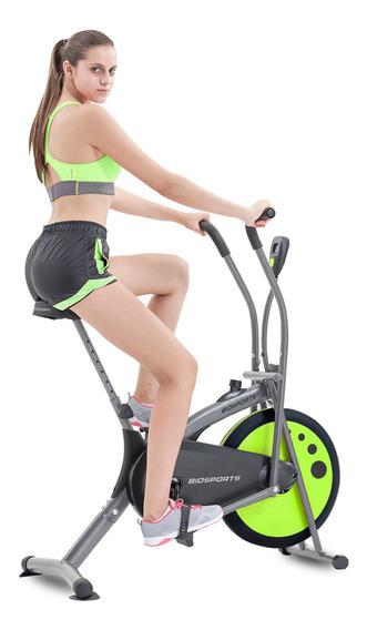 Bicicleta Fija Biosports Mtdp-7070 Peso Max 100 Kg