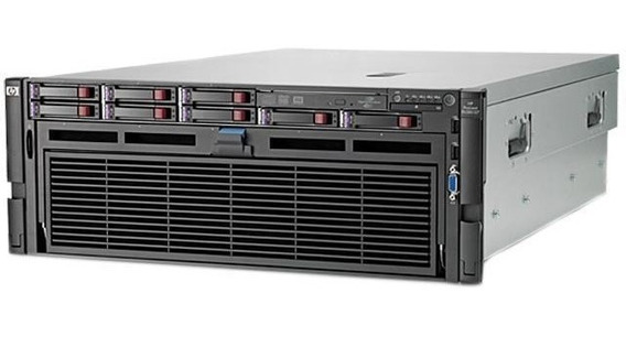 Servidor Hp Proliant Dl580 G7 Sixcore 128gb Seminovo