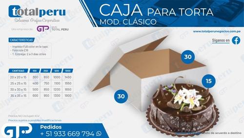 Cajas Para Torta
