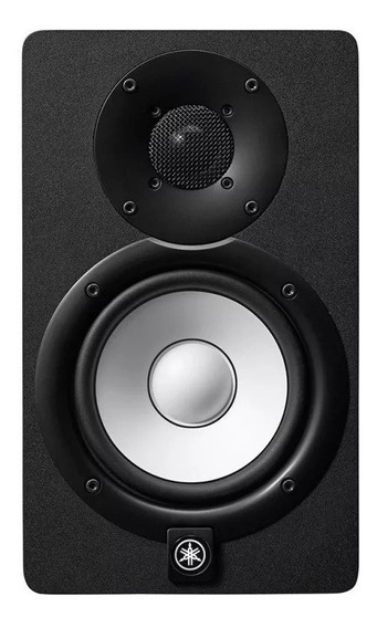 Monitor De Referência Yamaha Hs5 Preto Bi-amplificado