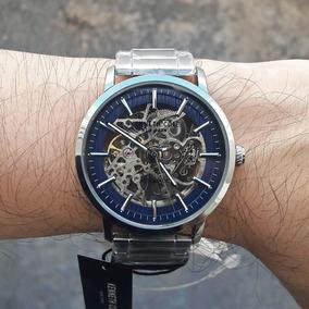 Reloj Kenneth Cole Automático Skeleton 100% Original Nuevo