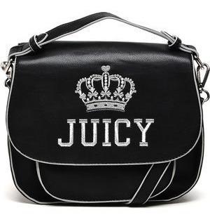 Bolsa Tiracolo Juicy Couture Pequena Preta