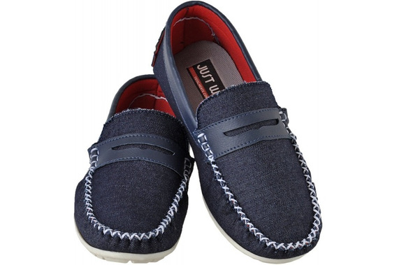 Mocassim Infantil Just Walk 415 Jeans